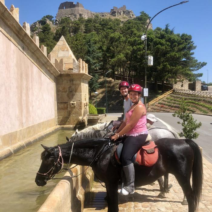 Horse riding excursion Geraci Siculo